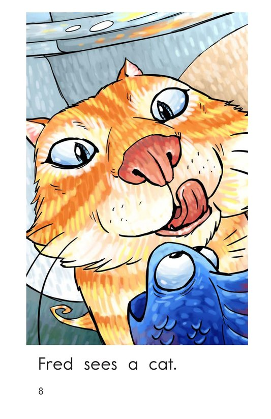 Book Preview For A Fish Sees Page 8