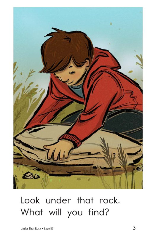 Book Preview For Under That Rock Page 3
