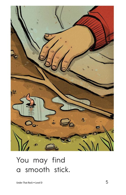Book Preview For Under That Rock Page 5