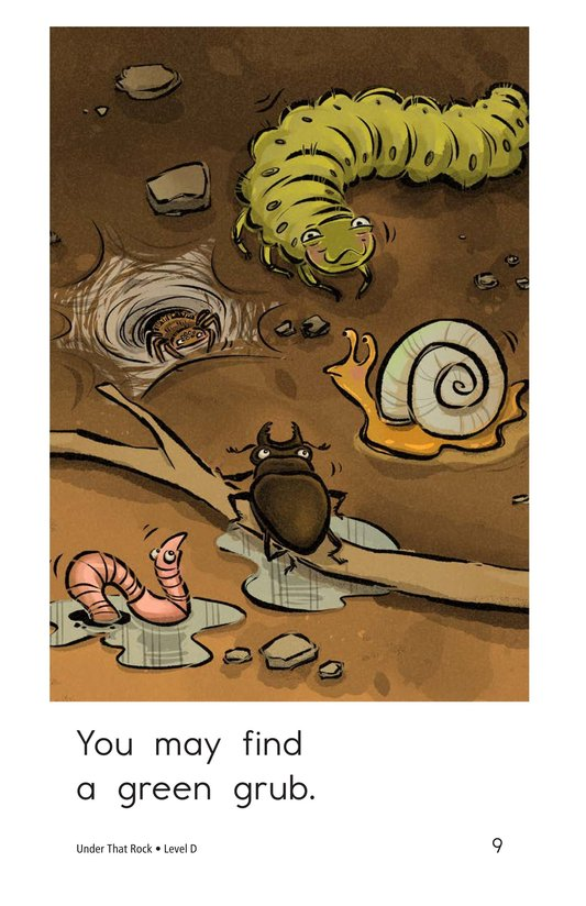 Book Preview For Under That Rock Page 9