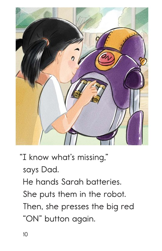 Book Preview For We Build a Robot Page 10