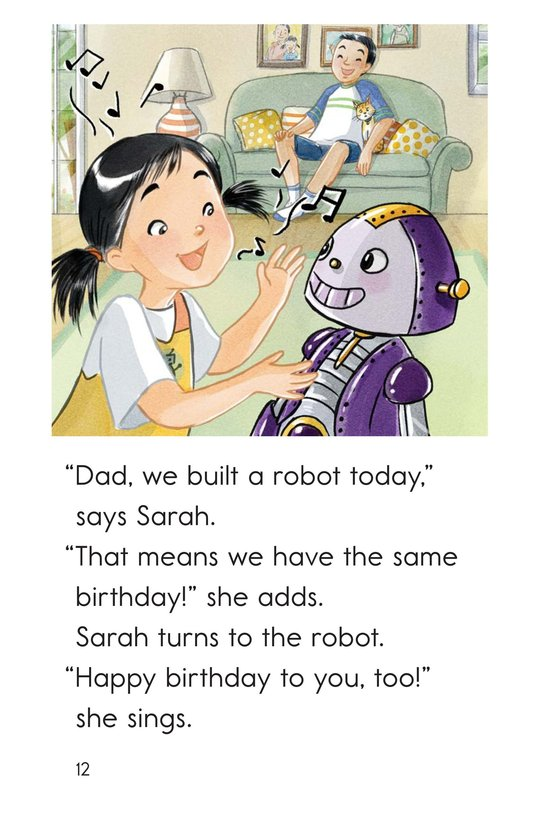 Book Preview For We Build a Robot Page 12