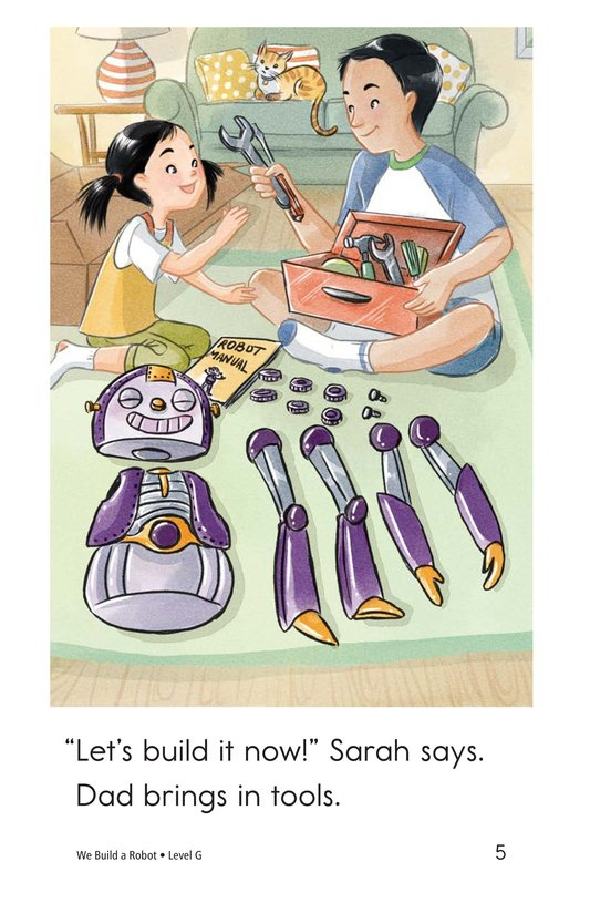 Book Preview For We Build a Robot Page 5