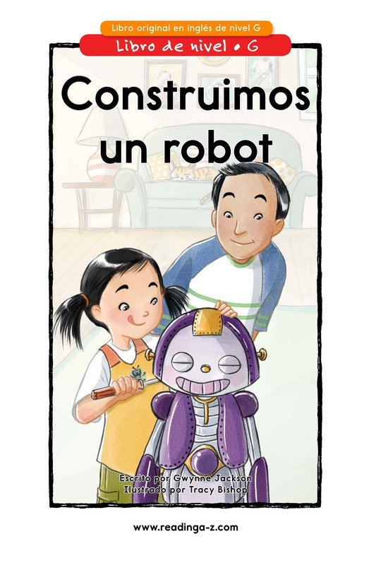 Book Preview For We Build a Robot Page 0