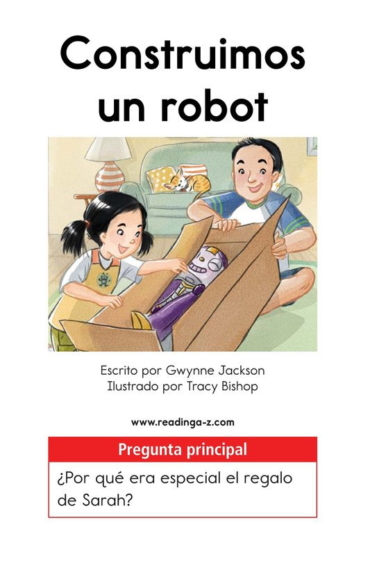 Book Preview For We Build a Robot Page 1