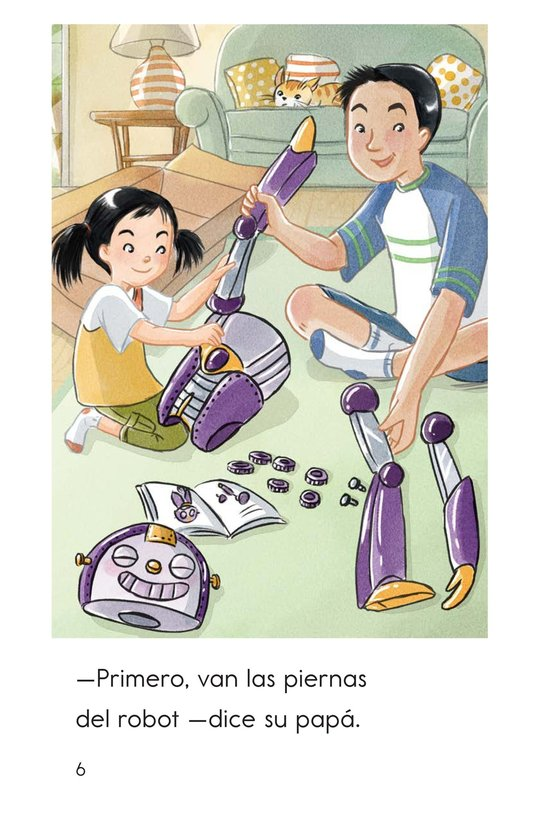 Book Preview For We Build a Robot Page 6