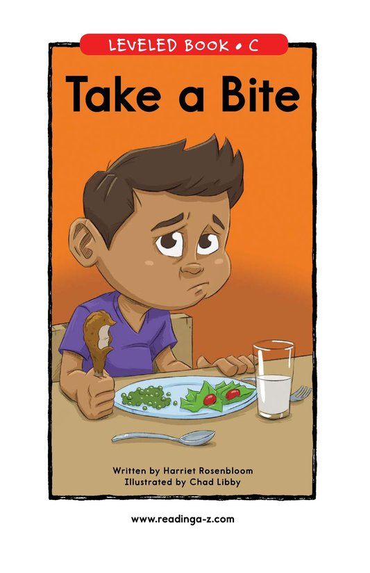 Book Preview For Take a Bite Page 0