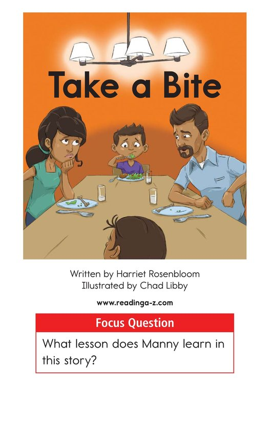 Book Preview For Take a Bite Page 1