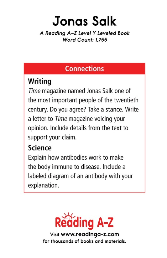 Book Preview For Jonas Salk Page 17