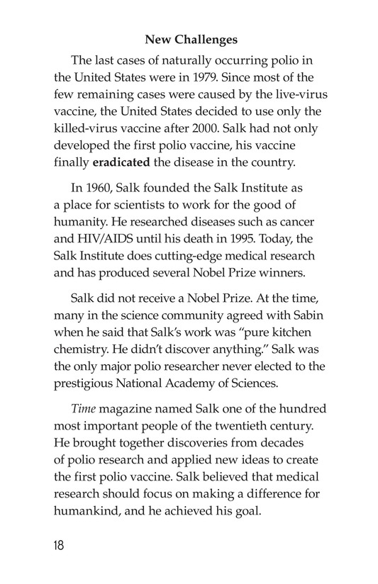 Book Preview For Jonas Salk Page 18
