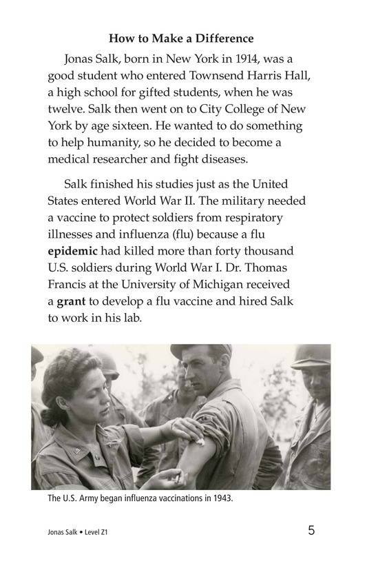 Book Preview For Jonas Salk Page 5