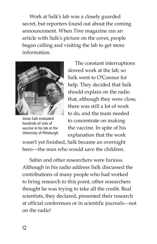 Book Preview For Jonas Salk Page 12