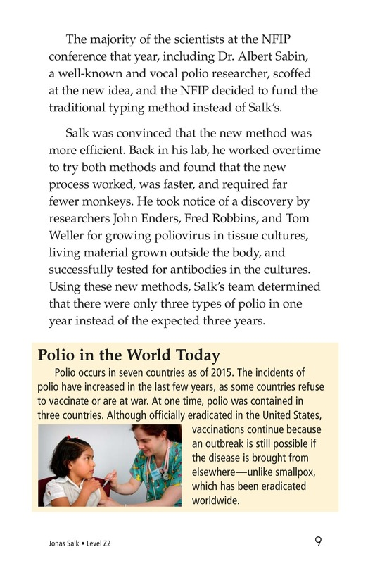 Book Preview For Jonas Salk Page 9