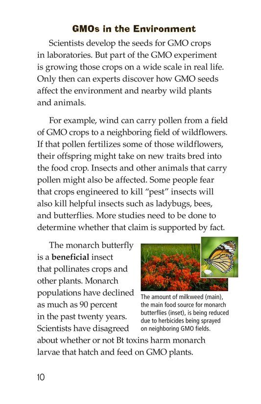 Book Preview For Are GMOs Safe? Page 10