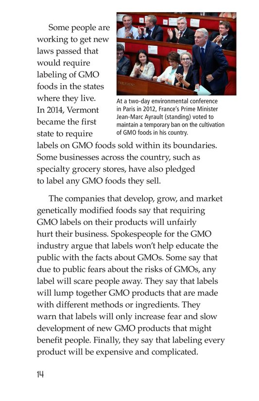 Book Preview For Are GMOs Safe? Page 14