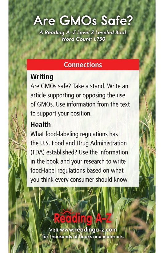 Book Preview For Are GMOs Safe? Page 17