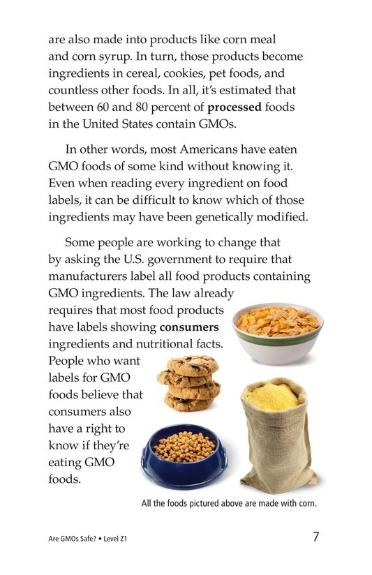 Book Preview For Are GMOs Safe? Page 7