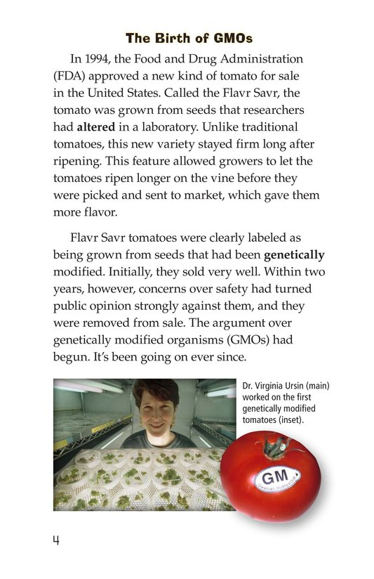 Book Preview For Are GMOs Safe? Page 4