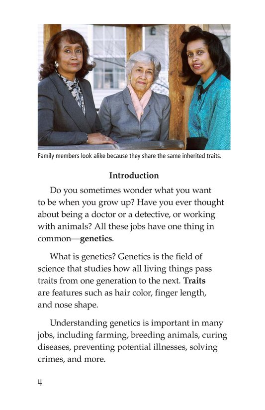 Book Preview For Genetics at Work Page 4