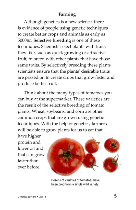 Book Preview For Genetics at Work Page 5