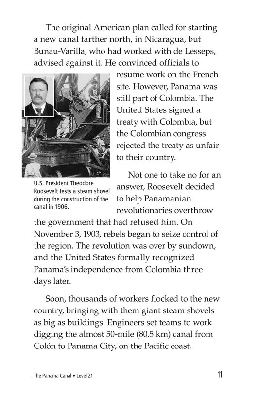 Book Preview For The Panama Canal Page 11