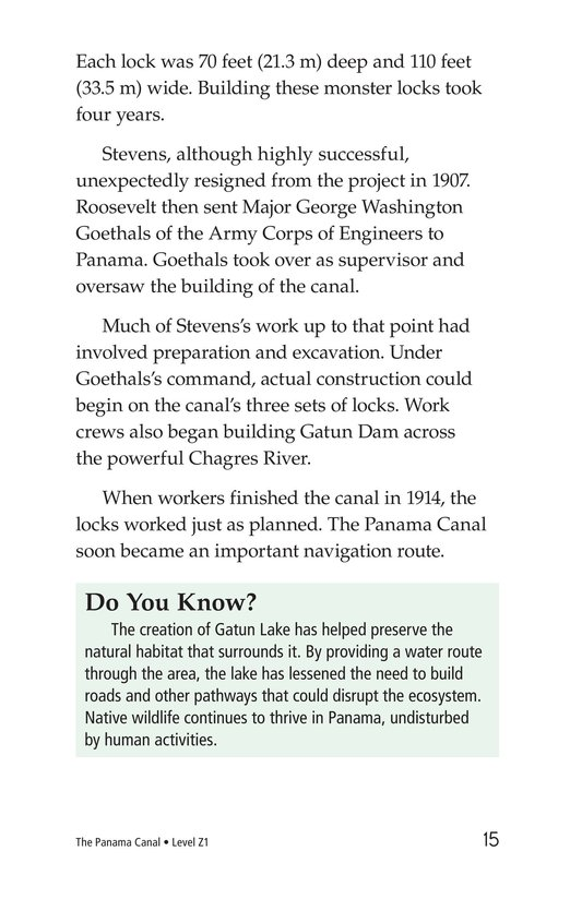 Book Preview For The Panama Canal Page 15