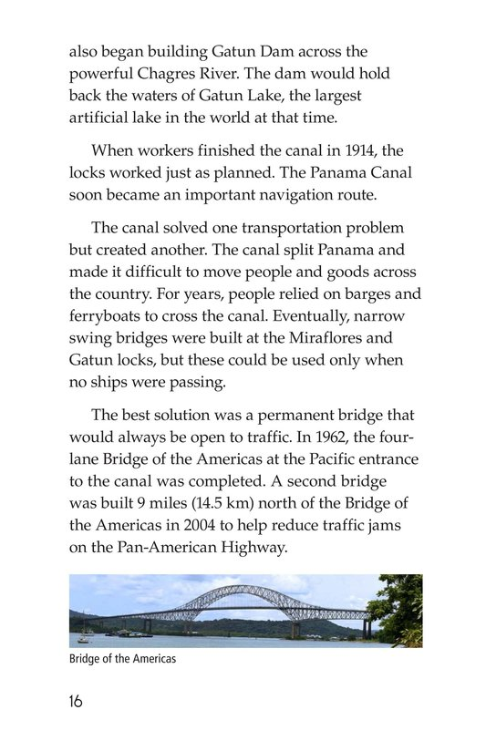 Book Preview For The Panama Canal Page 16