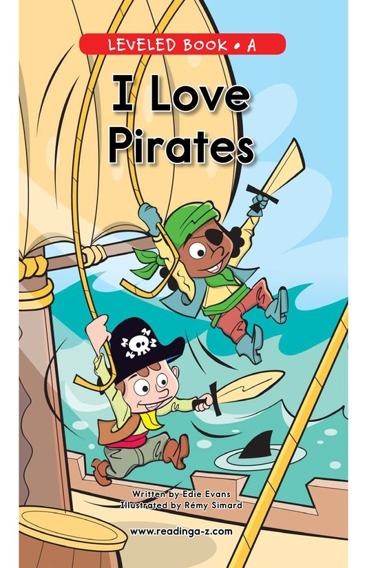Book Preview For I Love Pirates Page 0
