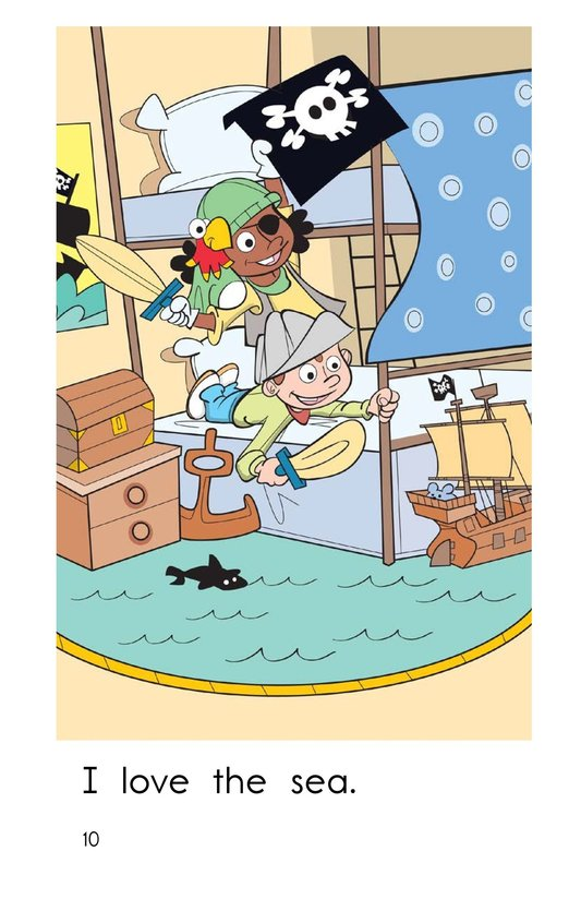 Book Preview For I Love Pirates Page 10