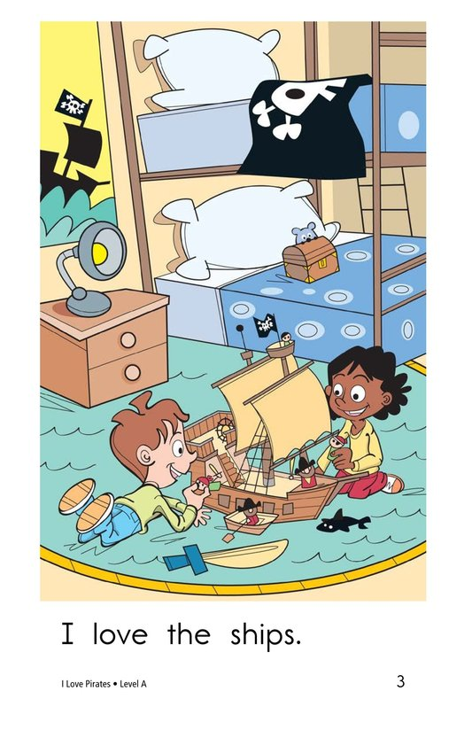Book Preview For I Love Pirates Page 3