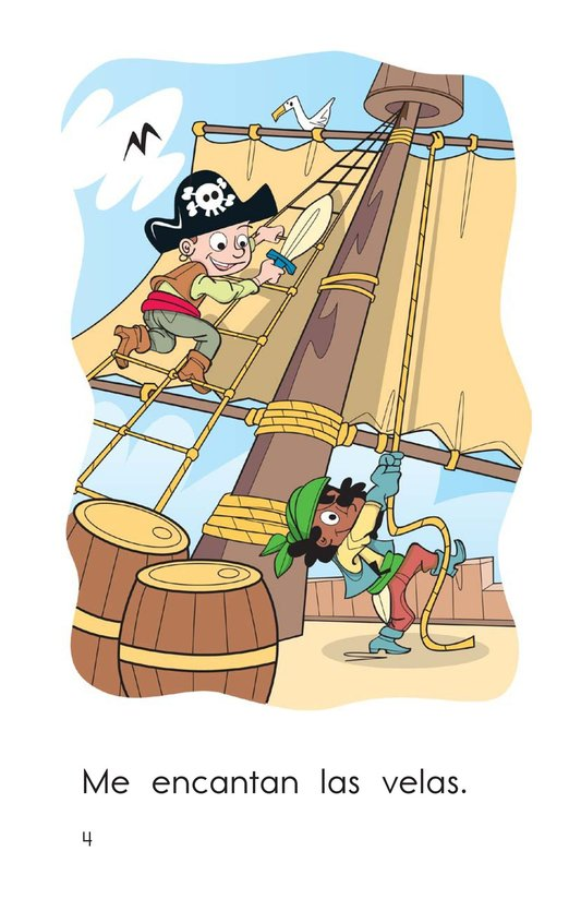 Book Preview For I Love Pirates Page 4