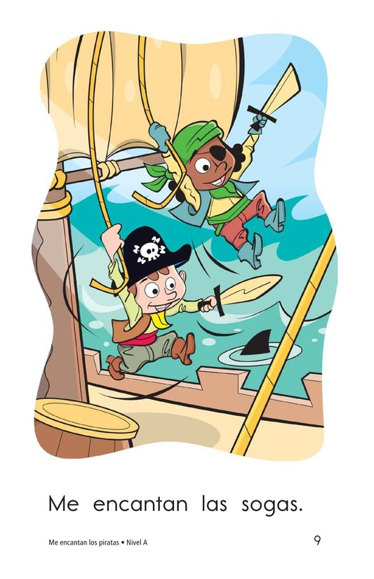 Book Preview For I Love Pirates Page 9