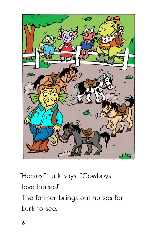 Book Preview For Monster Cowboy Page 6