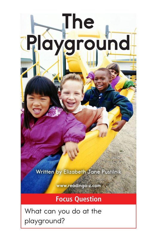 Book Preview For The Playground Page 1