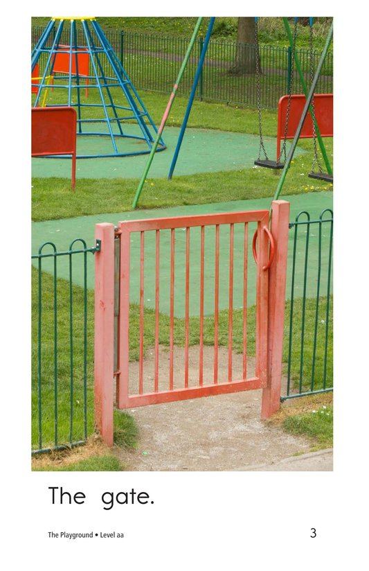 Book Preview For The Playground Page 3