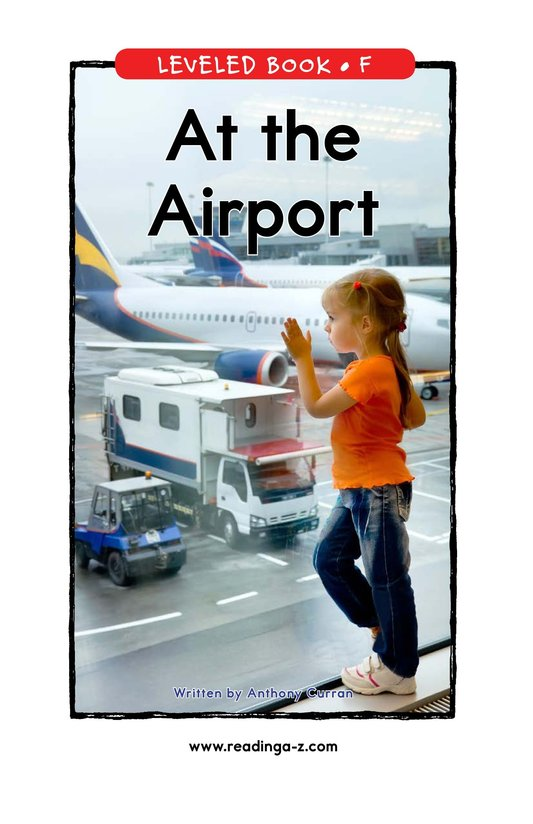 Book Preview For At the Airport Page 0