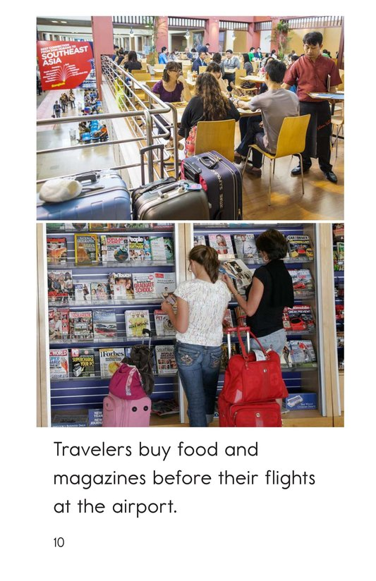 Book Preview For At the Airport Page 10