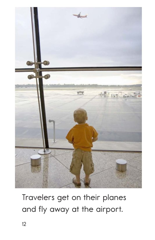 Book Preview For At the Airport Page 12