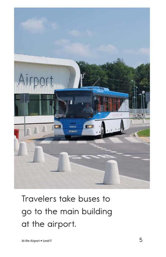 Book Preview For At the Airport Page 5