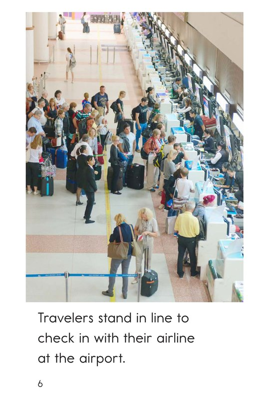 Book Preview For At the Airport Page 6