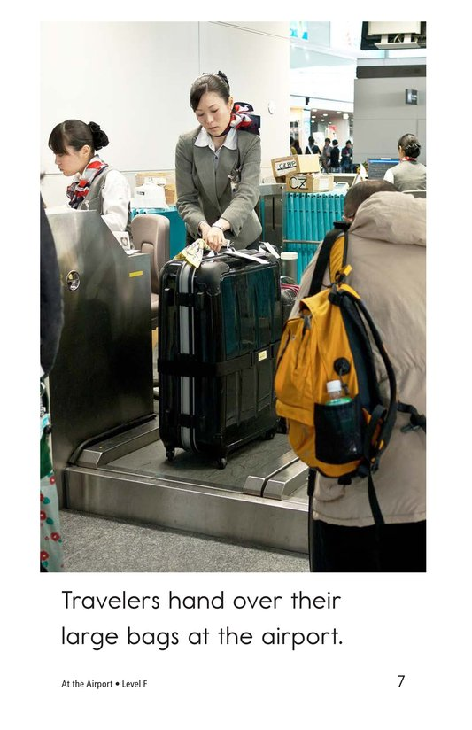 Book Preview For At the Airport Page 7