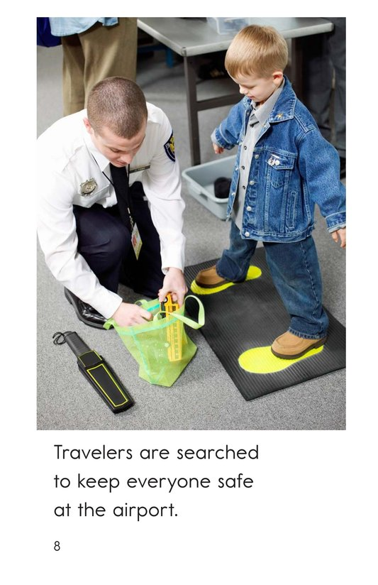 Book Preview For At the Airport Page 8
