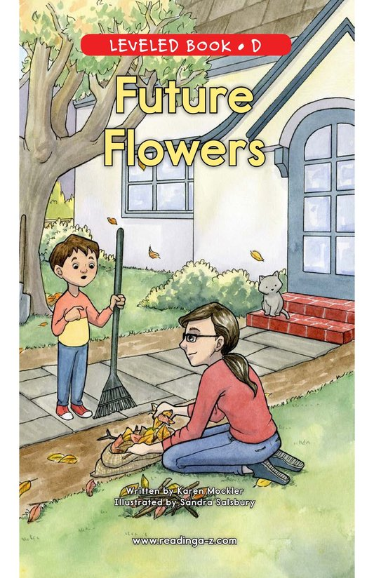 Book Preview For Future Flowers Page 0