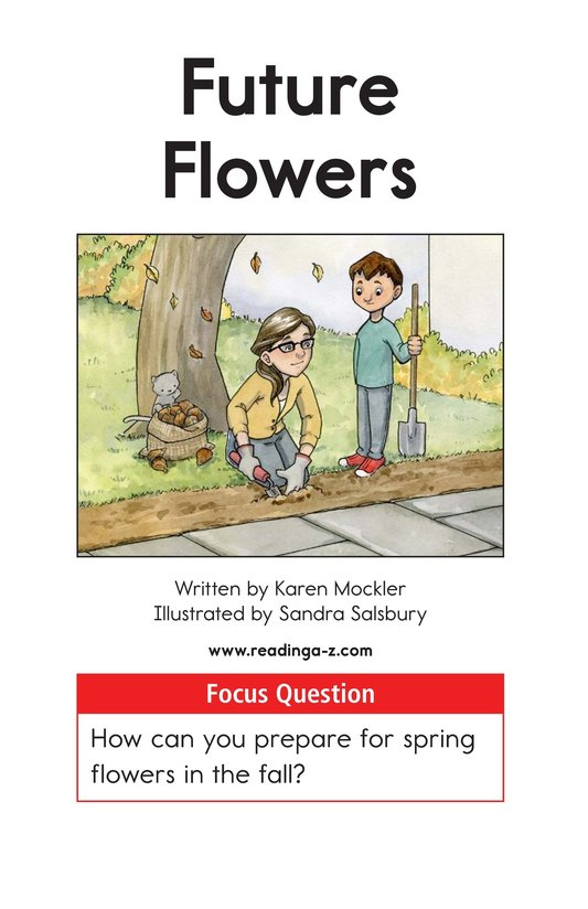 Book Preview For Future Flowers Page 1