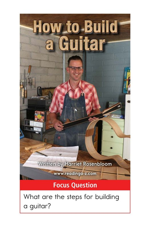Book Preview For How to Build a Guitar Page 1