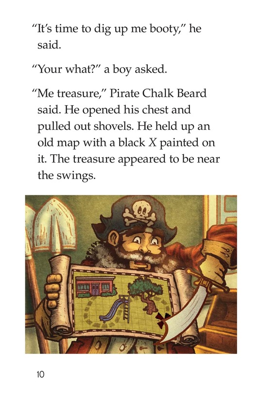 Book Preview For The Pirate Substitute Page 10