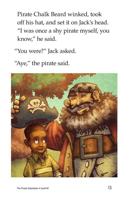 Book Preview For The Pirate Substitute Page 13