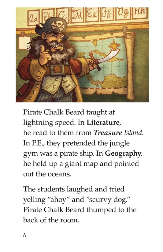 Book Preview For The Pirate Substitute Page 6