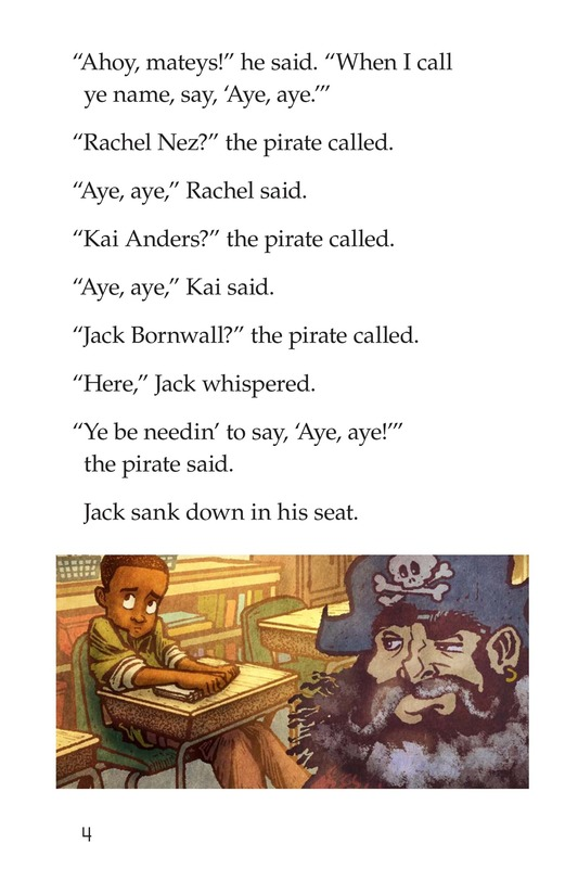 Book Preview For The Pirate Substitute Page 4
