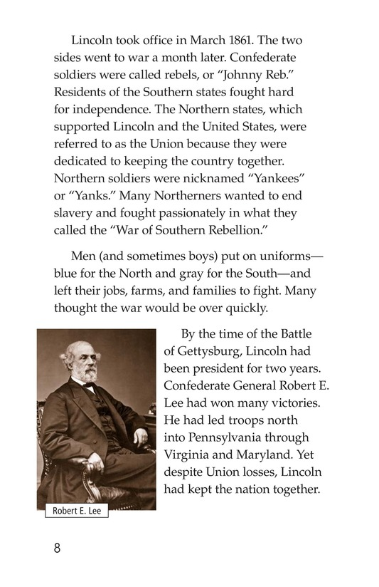 Book Preview For The Gettysburg Address Page 8